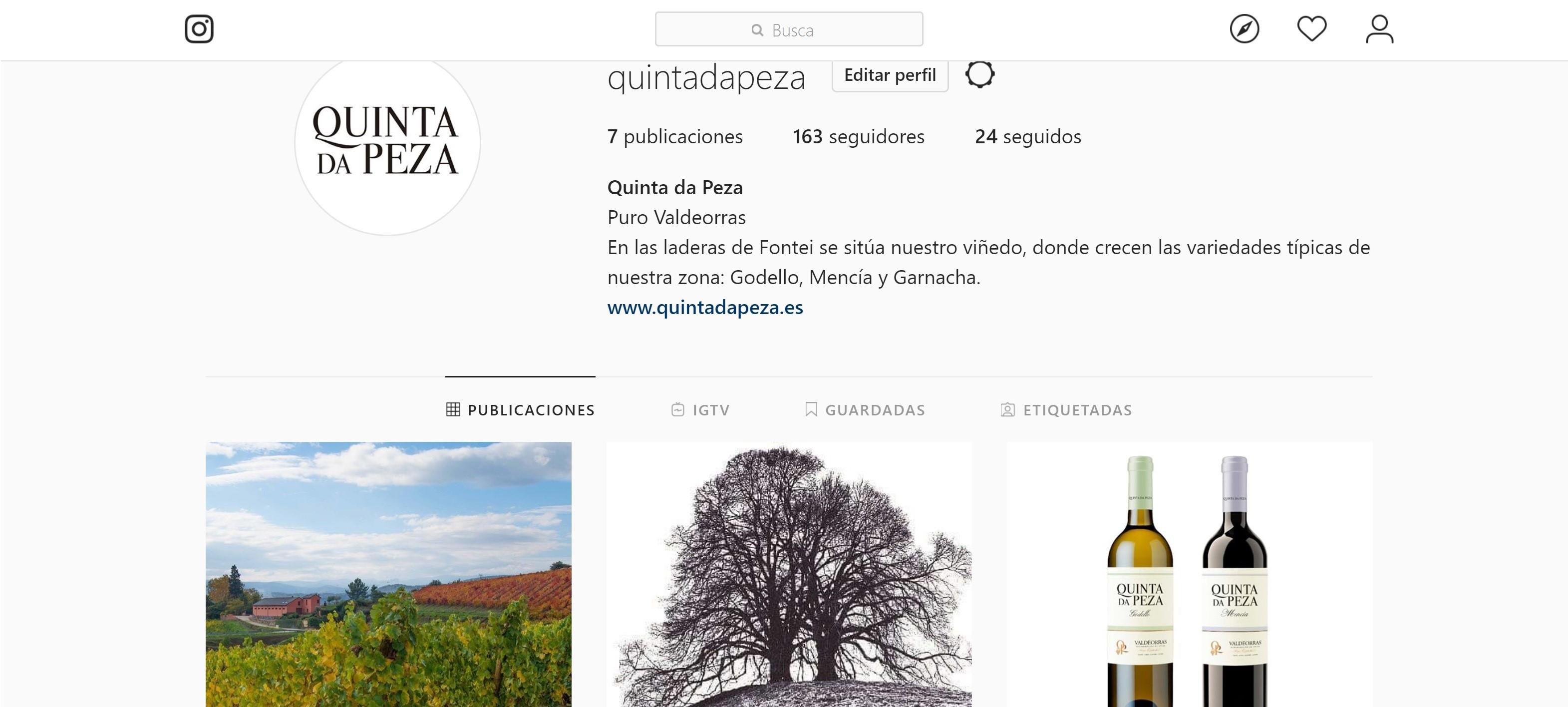 Instagram Quinta da Peza